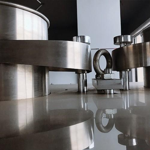 Prensa de tabletas rotativa farmacéutica química automática de alta velocidad