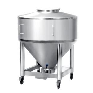 Tanque de mezcla de líquido de acero inoxidable con descuento a granel con mezclador homogeneizador con la mejor calidad