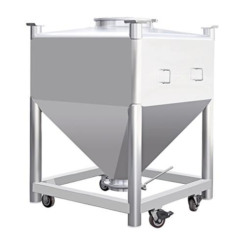 Máquina de barril de transferencia de mezcla de granulación de NGV para máquina mezcladora de polvo