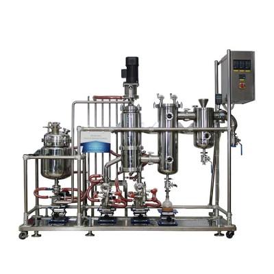 Línea de extracción del extractor de cannabis de cáñamo de alta pureza LTSP-15