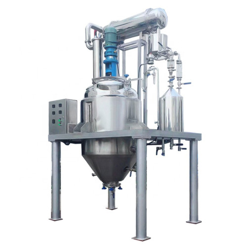 Factory selling low price hemp oil ethanol extraction machine