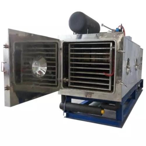 Secadora de banda para leche malteada en polvo congelación industrial de alimentos secado al vacío continuo industrial