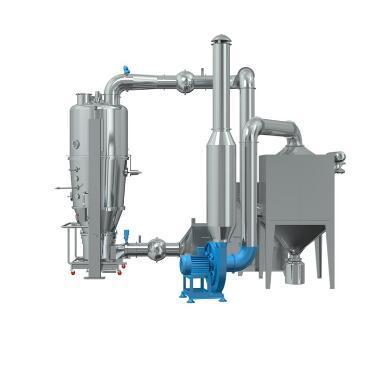 Precio de la máquina de granulación del secador de lecho fluido