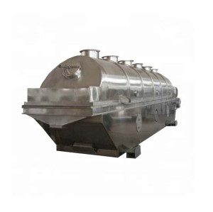 Continuous Vibrating Fluid Bed Drying Machine Equipment
