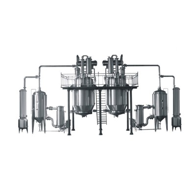 Línea de producción de extracción y concentración LTN-10/4000 de alta eficiencia y baja temperatura