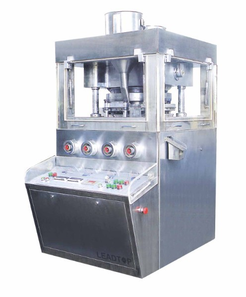 Máquina de fabricación de prensa de tabletas rotativas ZP-31D de doble capa