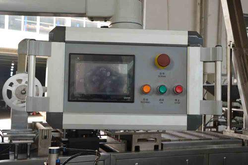 Máquina envasadora de blister de papel y plástico multifuncional LTZS-500