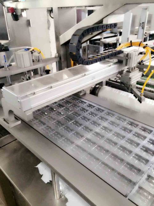 DPP-250P High Efficient Automatic pill syringe Blister Packing Machine