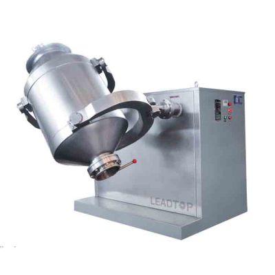 SYH-600 mezclador tridimensional de mezclador de polvo 3D de acero inoxidable