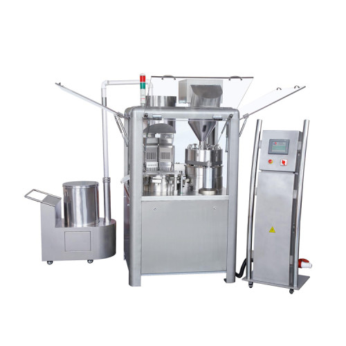 Как чистить автоматическую машину для наполнения капсул?