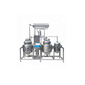 Fábrica que vende la máquina de extracción de etanol de aceite de cáñamo de bajo precio