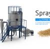 Relevant measures for energy saving of centrifugal spray dryer