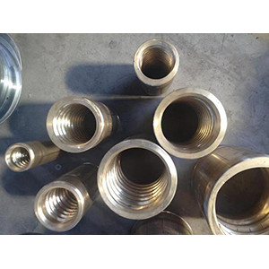 Copper and stainless steel diameter setting sleeve, sizing set of plastic extrusion machine