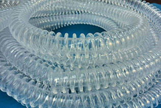 PVC/PE medical use winding corrugated pipe extrusion machine-Zhongkaida Plastic Machinery