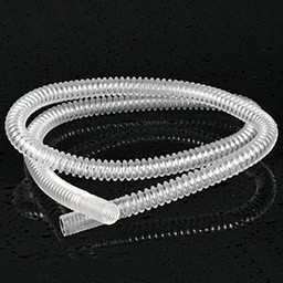 Línea de extrusión de tubos de bobinado de uso médico de PVC / PE