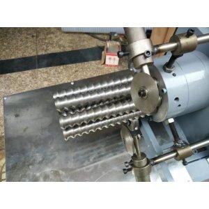 PU/PVC kitchen ventilator exhaust corrugated pipe extrusion machine-Zhongkaida Plastic Machinery