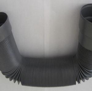 Machine d'extrusion de tuyau d'échappement de ventilateur de cuisine d'unité centrale / PVC