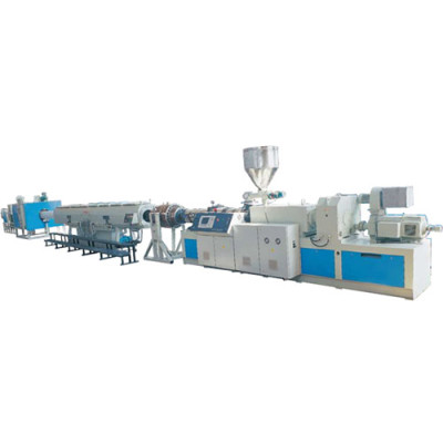 PVC-C Power Cable Sheathed Pipe Extrusion Line