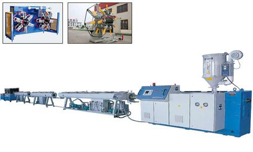 PP-R, Tuyau d'eau chaude et froide PER-T (une matrice double sorties), Machine d'extrusion de tuyaux PEX