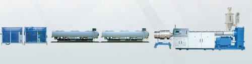 Máquina extrusora de tuberías de gas y suministro de agua de PE