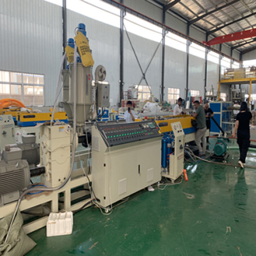Indian customer audit for Double-wall corrugated pipe machine