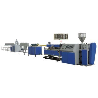 Máquina de extrusión de tubos de plástico corrugado pretensado de HDPE