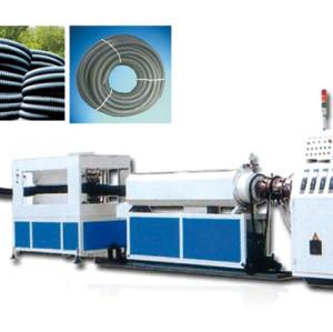 Machine d'extrusion de tuyaux en spirale en carbone PE