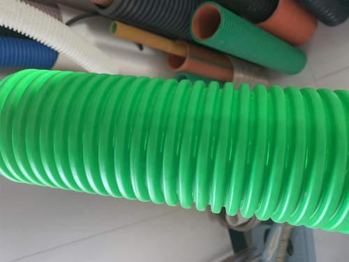 Línea de extrusión de tubería de filtración de plástico HDPE