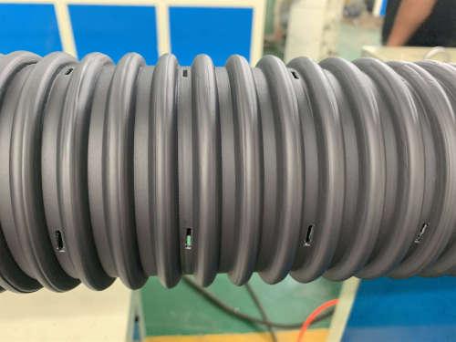 Ligne d'extrusion de tuyaux d'infiltration en plastique HDPE