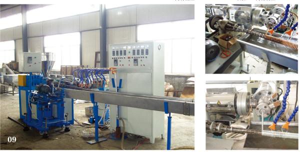 PP/PU steel wire-winding ventilation pipe extrusion machine-Zhongkaida Plastic Machinery