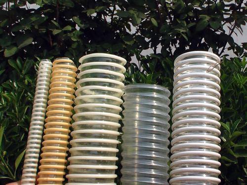 Ligne d'extrusion de tuyaux renforcée de nervures en spirale en plastique PVC