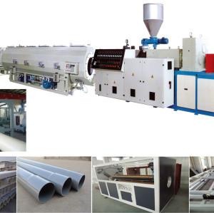 Ligne d'extrusion de tuyaux en plastique PVC / CPVC