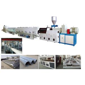 PVC/CPVC Plastic Pipe Extrusion Line