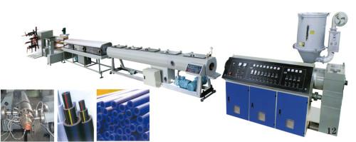 Ligne d'extrusion de tuyaux composés PPR / PP / PE