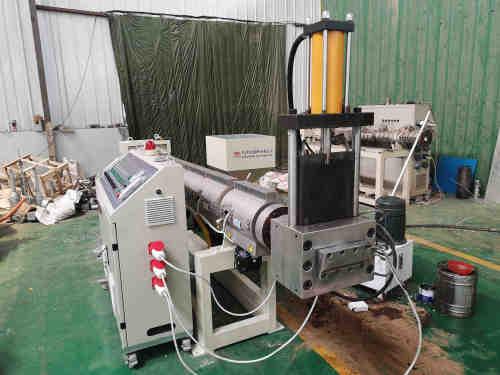 Trituradora de tubos de plástico y máquina de granulación
