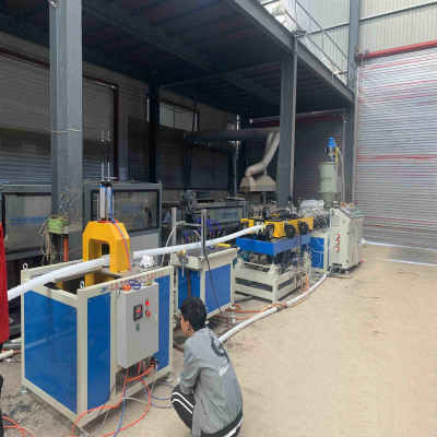 New Ventilation Duct Extrusion Line