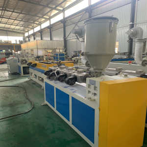 PP/PE/PVC single wall corrugated plastic pipe extrusion line-Zhongkaida Plastic Machinery