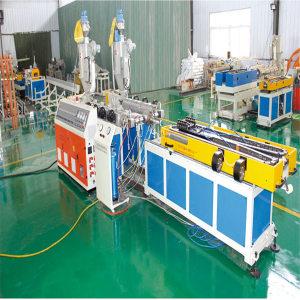 PP/PE/PVC Double wall corrugated plastic pipe extrusion machine-Zhongkaida Plastic Machinery