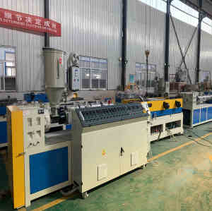 Máquina extrusora de tubos corrugados de doble pared PP / PE / PVC