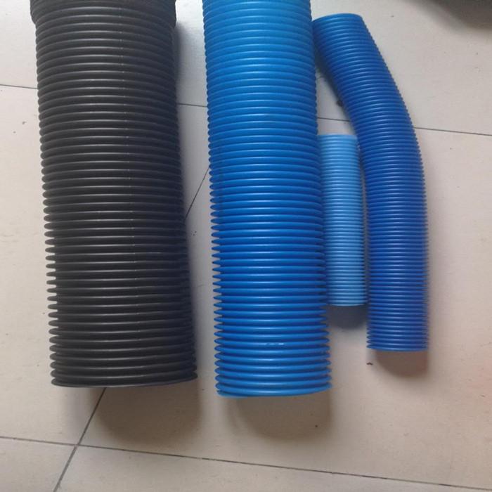¿Cuál es el rango de diámetro de la tubería producido por la máquina de tubería corrugada de pared s