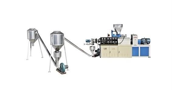 Máquina de producción de peletizado de corte en caliente de PVC