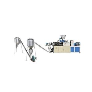 PVC hot-cutting pelletizing production machine