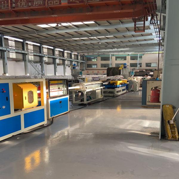 LDPE/LLDPE bamboo corrugated plastic pipe extrusion machine-Zhongkaida Plastic Machinery