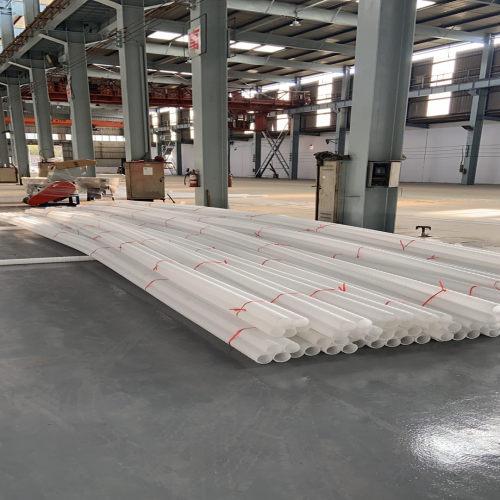 Máquina de extrusión de tubos de bambú LDPE / LLDPE