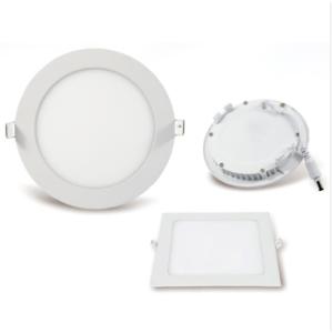 LED Panel Light -Round&Square - 3W 6W 9W 12W 15W 18W 24W