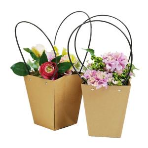 Kraft Paper Flower Pot