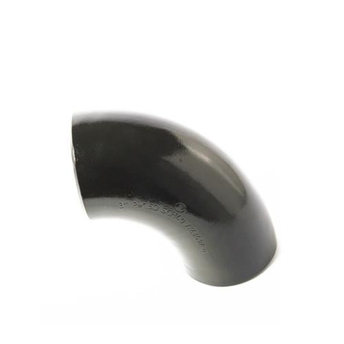 Фабрика стыковой сварки Q235 90 градусов короткий радиус Колено