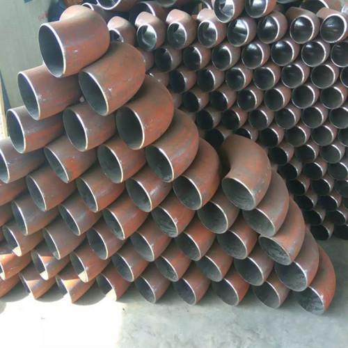 Цанчжоу фабрика производства углеродистой стали трубы локти для водоснабжения и водоотведения
