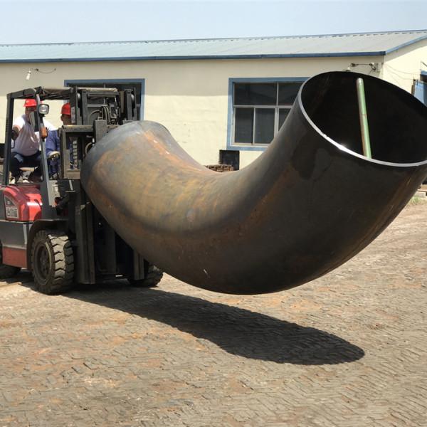 бесшовная стальная труба 90 градусов локти большого размера для россии