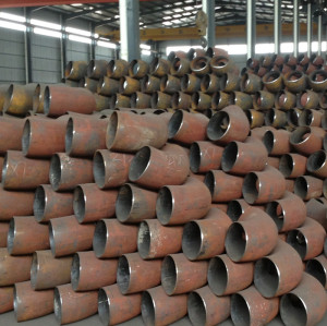 seamless steel pipe 90 degree Elbows in big size for Russia